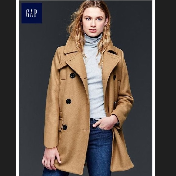 GAP Jackets & Blazers - NEW Gap double breasted wool pea coat